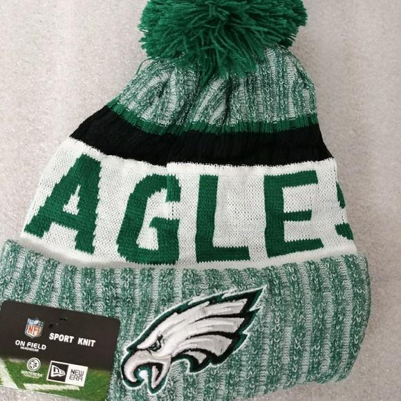 63e87213f04 Eagles beanie knit winter hat