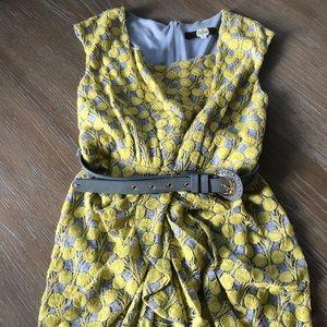Eva Franco Crochet Lace Dress