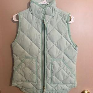 Jcrew puffer vest
