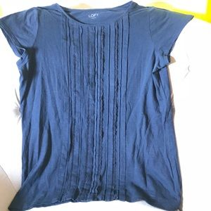 Navy blue with lace t-shirt