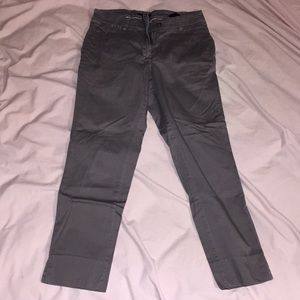 H&M Cropped Mid-rise Trousers
