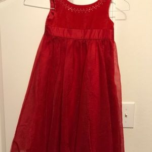 Red Christmas Dress Carters