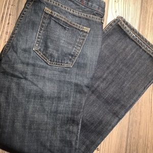 J.Crew size two blue jeans