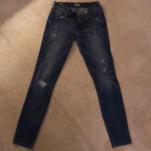 Distressed True Religion Halle Jeans