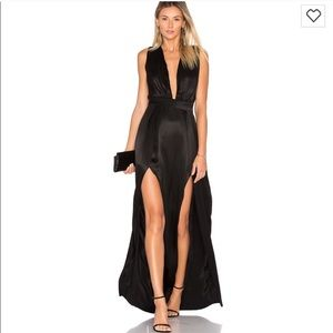 Lovers and friends black gown