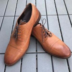 Cole Haan Oxford brown leather shoes 11.5