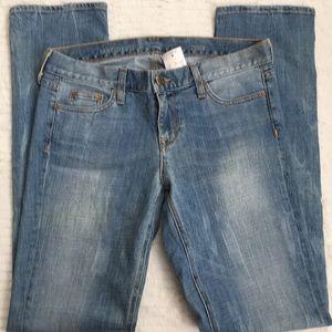 J. Crew matchstick jeans NWT