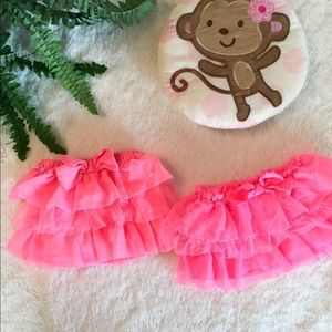 Two Carter's Tulle Skirts 3M