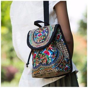 Handbags - Mini Ethnic Backpack