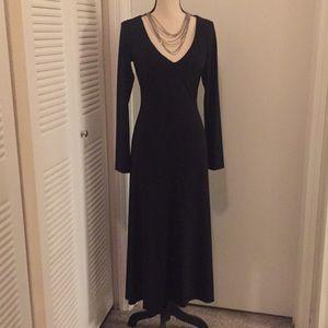 VS Moda international black long sleeve dress S