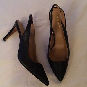 NWOT Nine West sling back pumps
