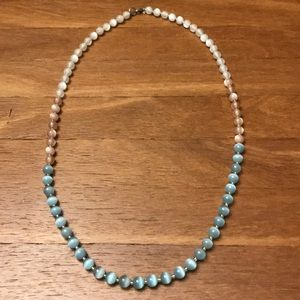 BR glass bead necklace