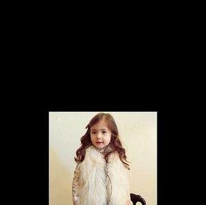Other - Cute girls waistcoat fur vest warm vests sleeveles