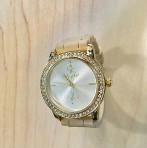 Baby Phat Watch - Cream and Gold