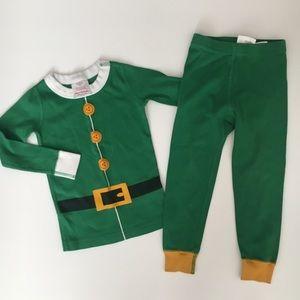 Hanna Andersson 3T Size 90 Elf Pajamas