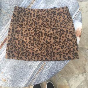 New Leopard Skirt