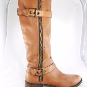 LIKE NEW STEVE MADDEN Knee High Riding Boots 9.5M