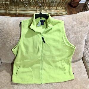 Venezia New Lime Fleece Zip Vest
