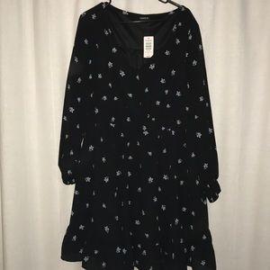 Torrid long sleeve dress. Size 1