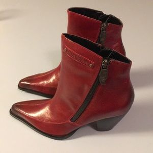 Harley Davidson leather booties