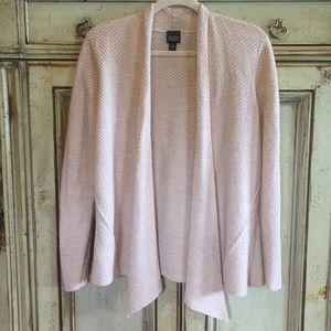 Eileen Fisher Open Front Wool Cardigan