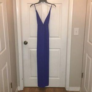Women's backless maxi dress size Medium