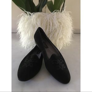 🎁Rockport Black Suede Flats🎁