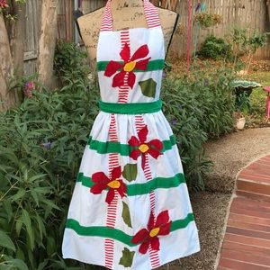 Darling one of a kind Christmas apron