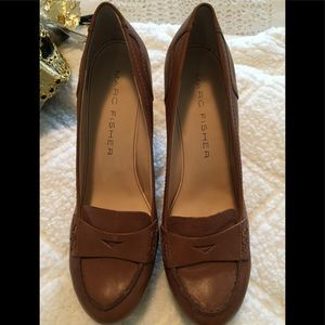 Marc Fisher Leather pumps 8.5M