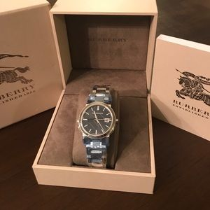 Authentic Burberry Steel Watch