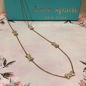 Kate Spade Bow Long Necklace