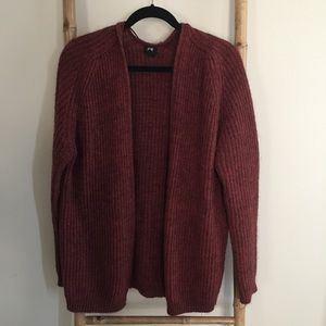 Rust H&M Cardigan