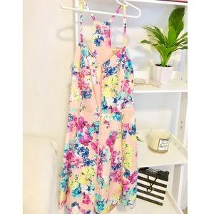 Mini spring dress