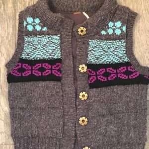 Free people knit vest