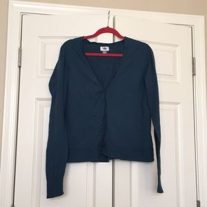 Blue Old Navy Cardigan