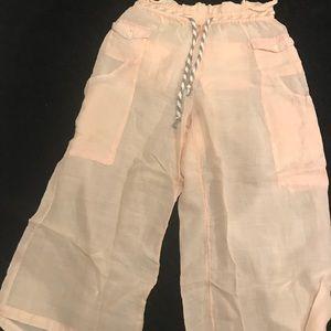 Anthropologie Blushed Utility Pants