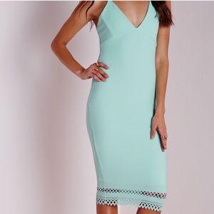 Missguided midi dress size L