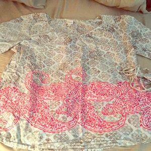 3/4 sleeve top from Merona