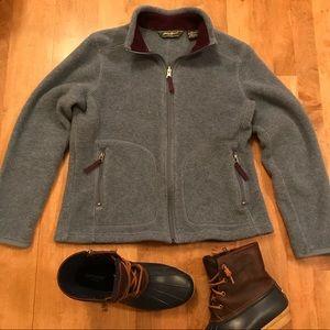 Eddie Bauer Fleece Jacket Small