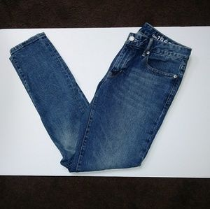 Gap curvy skinny jeans.
