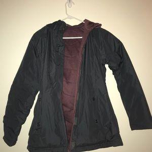 Burlington reversible winter coat