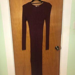 Forever 21 long sleeve/long dress
