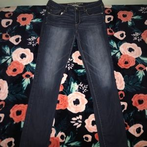 American Eagle: Super Stretch Skinny, Size 10