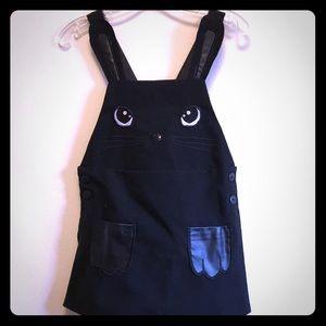 NWOT H&M Toddler Black Bunny Jumper