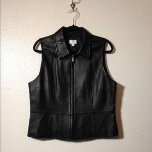 Lambskin Leather Vest
