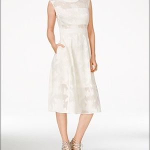 RACHEL ROY White Midi Dress NWOT