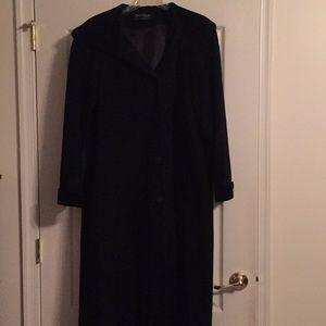 Hooded Long Wool Blend Coat 16