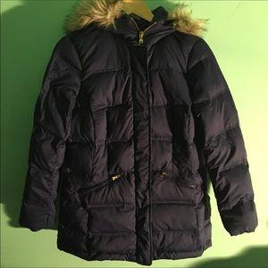 Women's Ralph Lauren Fur Hoodie Coat