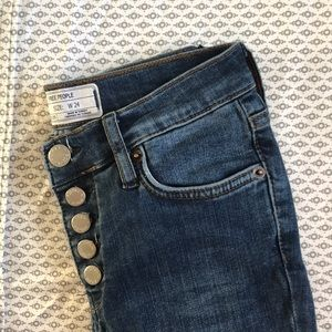 NWT Free People Reagan Jeans