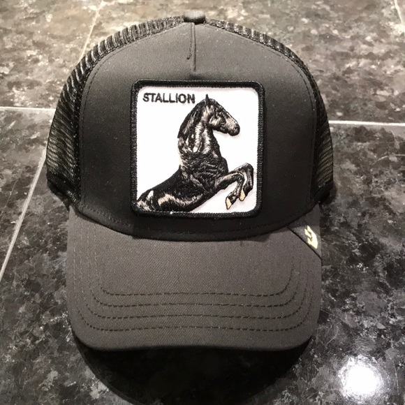 Goorin Bros Accessories - Black Stallion Goorin Bros Trucker Hat 647aea5dd78